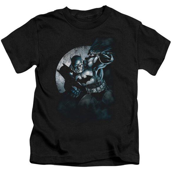 Batman Batman Spotlight Short Sleeve Juvenile Black T-Shirt