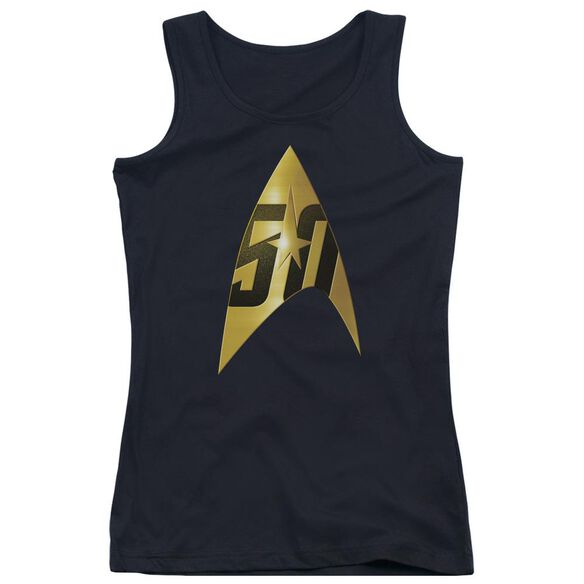 Star Trek 50 Th Anniversary Delta Juniors Tank Top