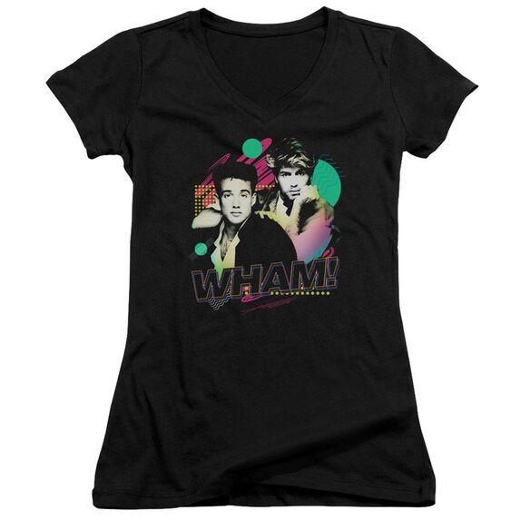 Wham The Edge Of Heaven Junior V Neck T-Shirt