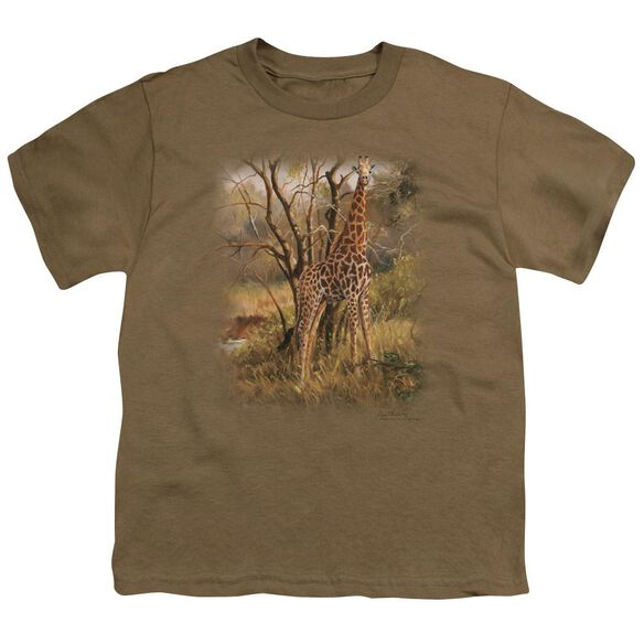 Wildlife Giraffe Short Sleeve Youth Safari T-Shirt