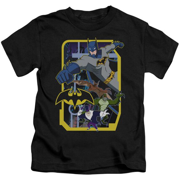 Batman Unlimited Unlimited Villains Short Sleeve Juvenile T-Shirt
