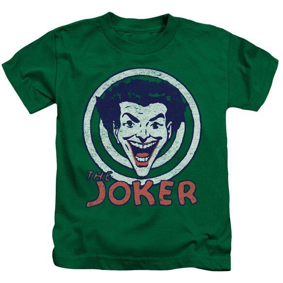 Dc Joke Target Short Sleeve Juvenile Kelly T-Shirt
