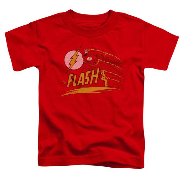 Dc Like Lightning Short Sleeve Toddler Tee Red Sm T-Shirt