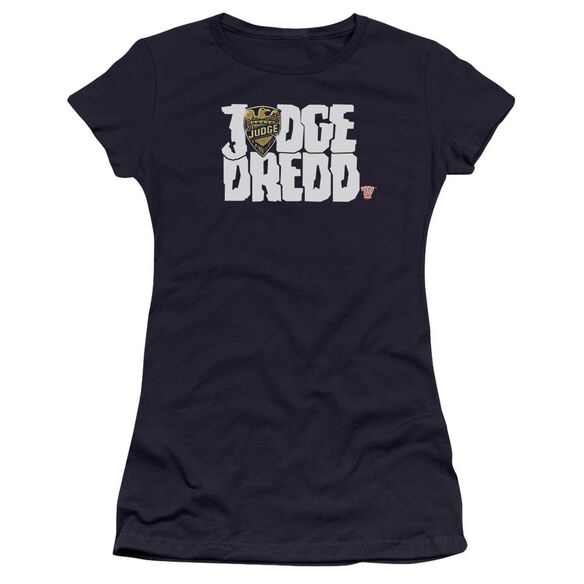 Judge Dredd Logo Premium Bella Junior Sheer Jersey