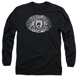 Hardluck Kings Oval Logo Long Sleeve Adult T-Shirt