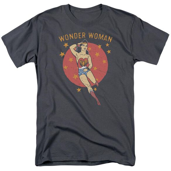 Dc Wonder Circle Short Sleeve Adult T-Shirt