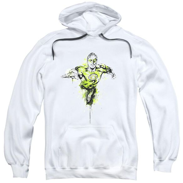 Green Lantern Inked Adult Pull Over Hoodie
