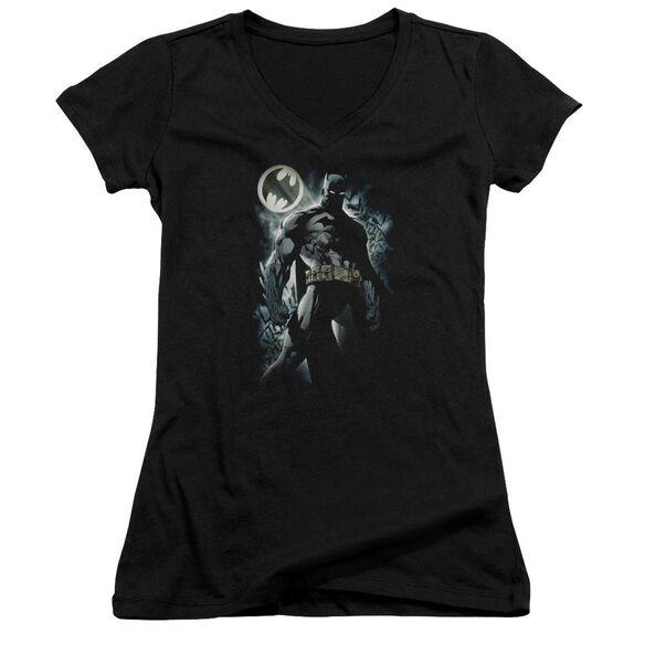 Batman The Knight Junior V Neck T-Shirt