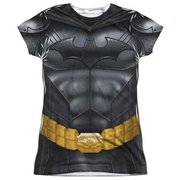 Batman Batman Athletic Uniform Short Sleeve Junior Poly Crew T-Shirt