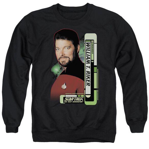 Star Trek Riker Adult Crewneck Sweatshirt