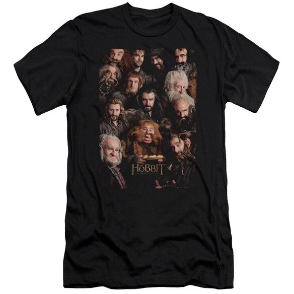 The Hobbit Dwarves Poster Short Sleeve Adult T-Shirt