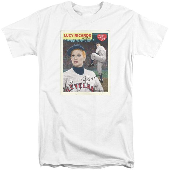 I Love Lucy Trading Card Short Sleeve Adult Tall T-Shirt