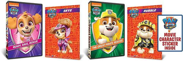 Paw Patrol: Ready Race Rescue / Great Pirate (2pc)