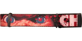 Childs Play Chucky Eyes Splatter Mesh Belt