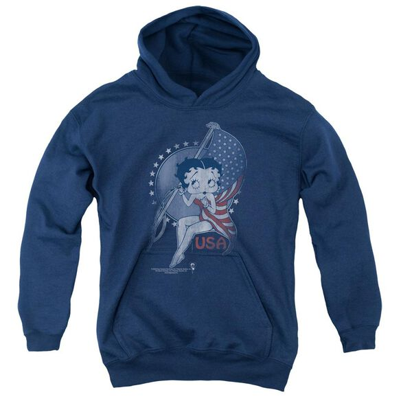 Betty Boop Proud Betty Youth Pull Over Hoodie