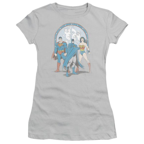 Dc Trinity Short Sleeve Junior Sheer T-Shirt