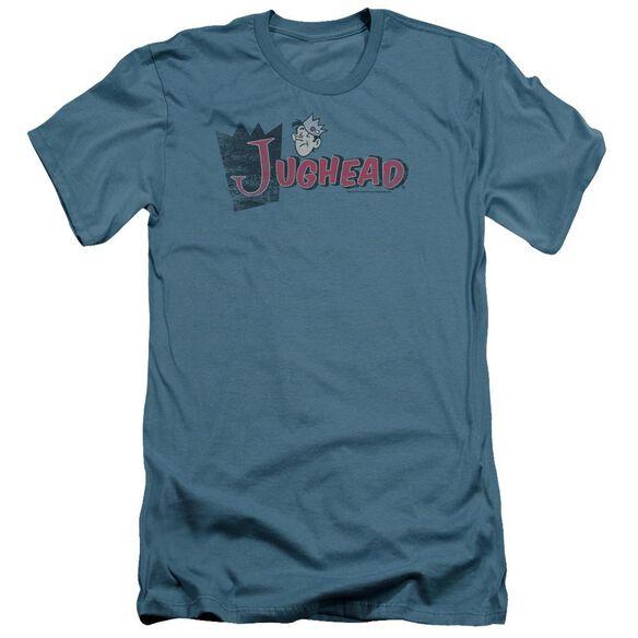 Archie Comics Distressed Jughead Logo Short Sleeve Adult T-Shirt