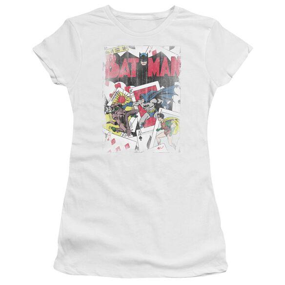 Dc Number 11 Distressed Short Sleeve Junior Sheer T-Shirt