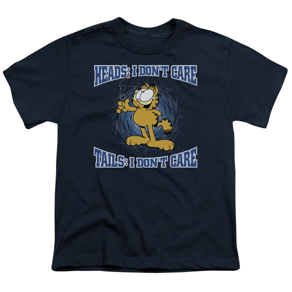 Garfield Heads Or Tails Short Sleeve Youth T-Shirt