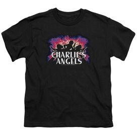 Charlies Angels Explosive Short Sleeve Youth T-Shirt