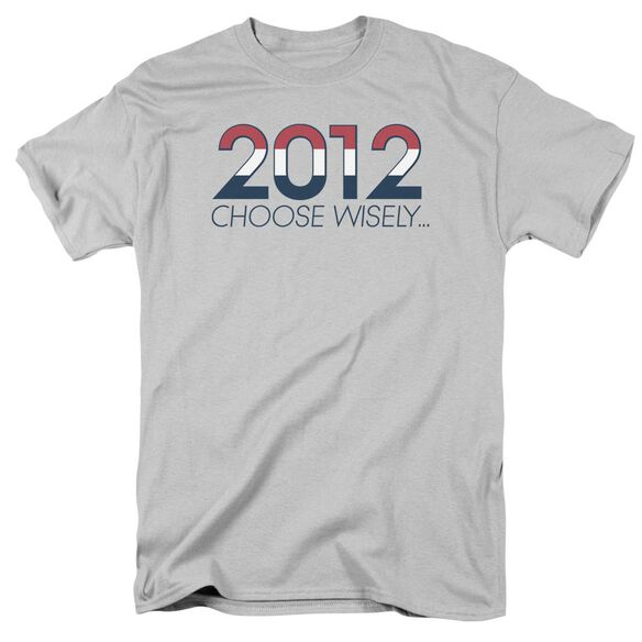 Choose Wisely Short Sleeve Adult Athletic Heather T-Shirt