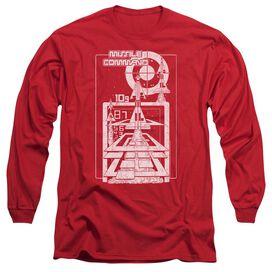 Atari Lift Off Long Sleeve Adult T-Shirt