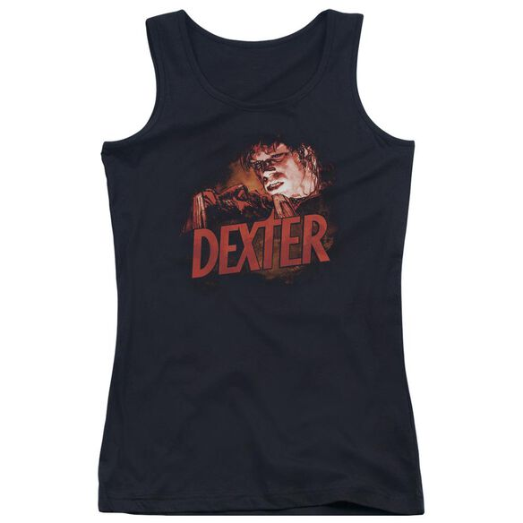 Dexter Drawing Juniors Tank Top