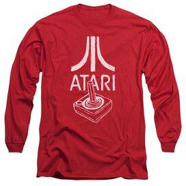 Atari Joystick Logo Long Sleeve Adult T-Shirt