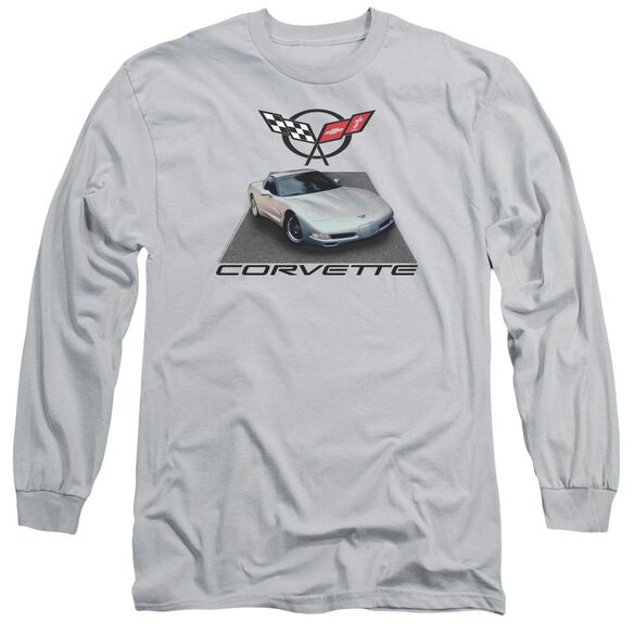 Chevrolet 01 Vette Long Sleeve Adult T-Shirt