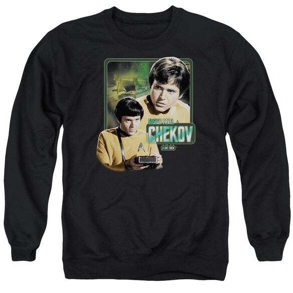 Star Trek Ensign Chekov Adult Crewneck Sweatshirt