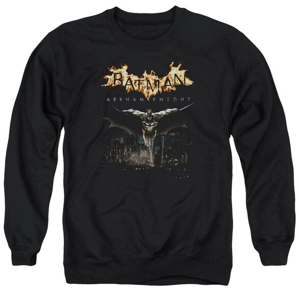 Batman Arkham Knight City Watch Adult Crewneck Sweatshirt