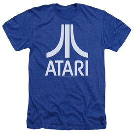 Atari Atari Logo Adult Heather Royal