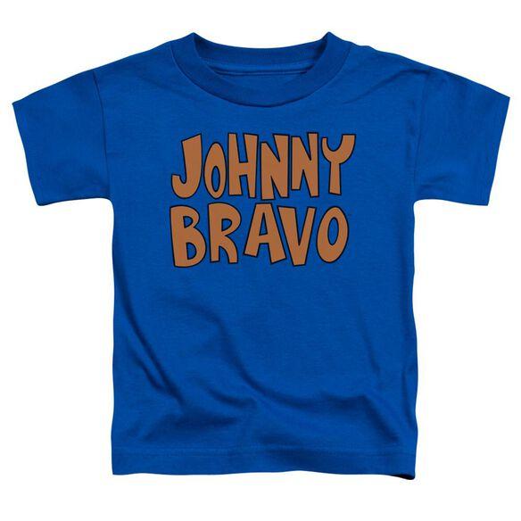 Johnny Bravo Jb Logo Short Sleeve Toddler Tee Royal Blue T-Shirt