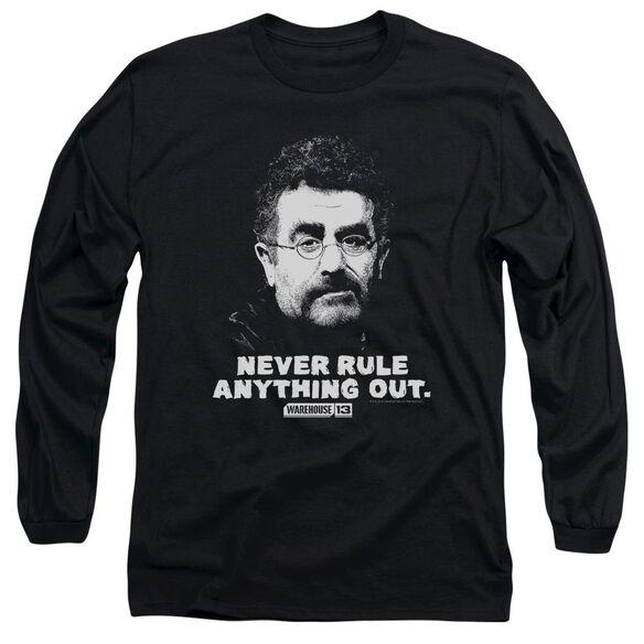 Warehouse 13 Artie Long Sleeve Adult T-Shirt