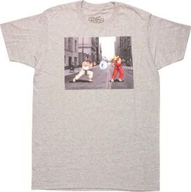 Street Fighter Ryu vs Ken Masters T-Shirt