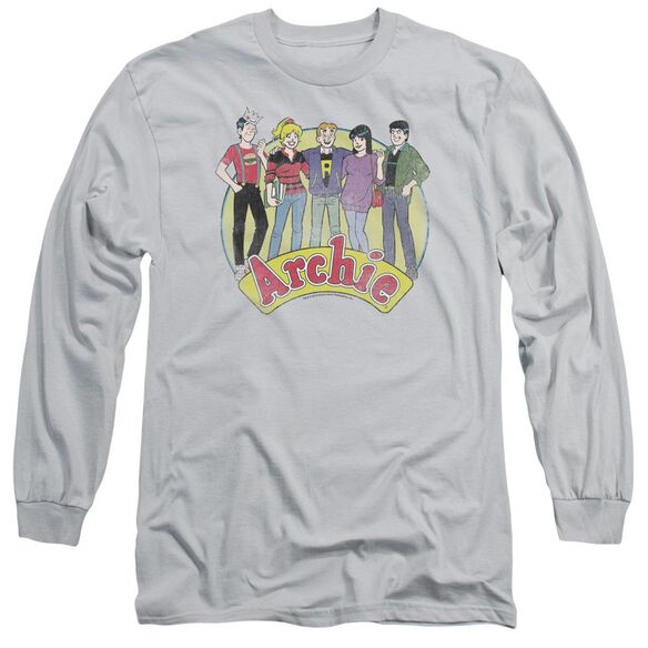 Archie Comics The Gang Long Sleeve Adult T-Shirt
