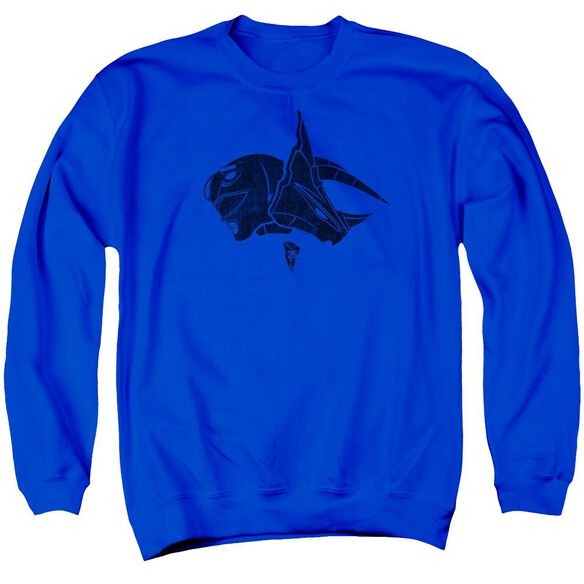 Power Rangers Adult Crewneck Sweatshirt Royal