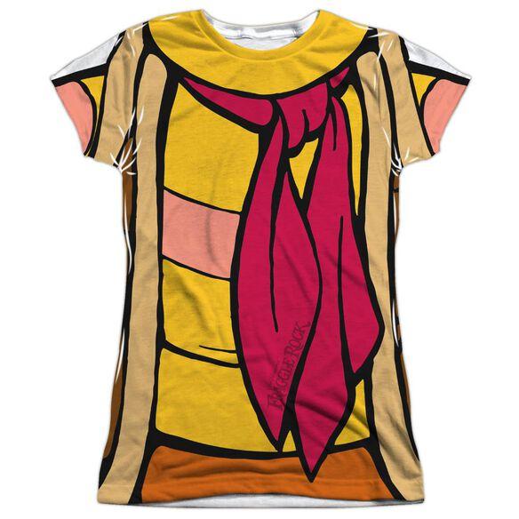Fraggle Rock Gobo Uniform Short Sleeve Junior Poly Crew T-Shirt