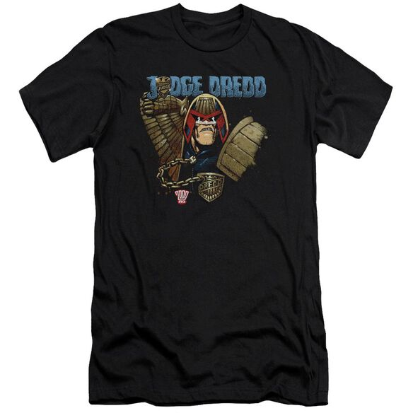 Judge Dredd Smile Scumbag Short Sleeve Adult T-Shirt