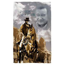 John Wayne Ride Em Cowboy Face Hand Towel