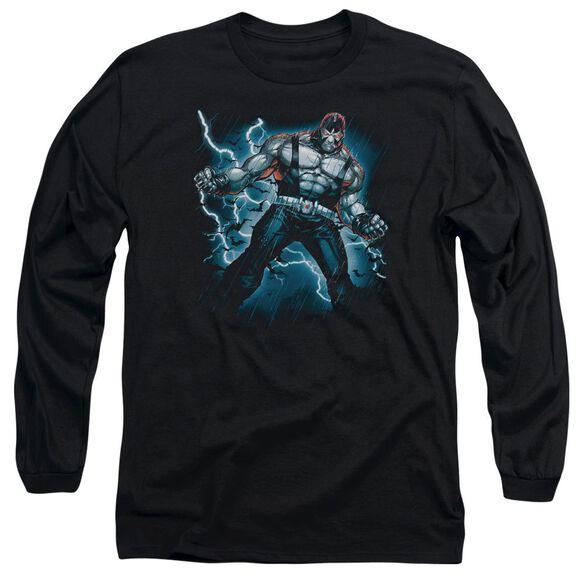 Batman Stormy Bane Long Sleeve Adult T-Shirt