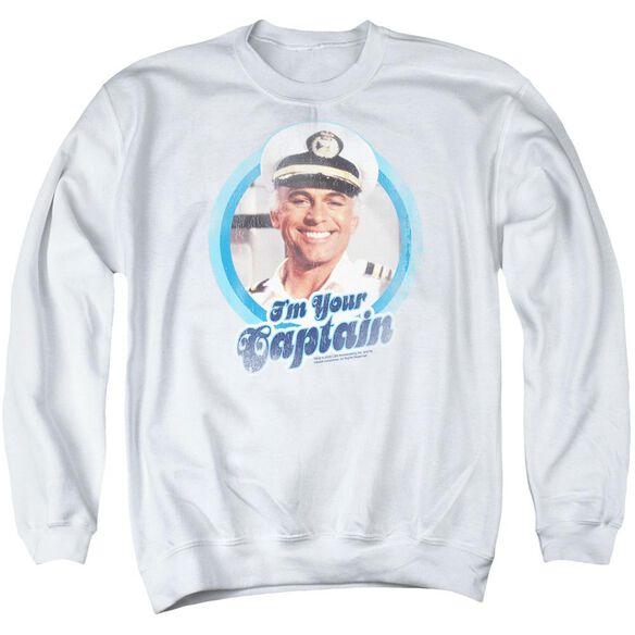 Love Boat I'm Your Captain Adult Crewneck Sweatshirt