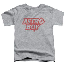 Astro Boy Logo Short Sleeve Toddler Tee Athletic Heather T-Shirt