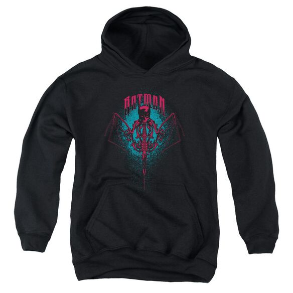 Batman Carpe Nocturn Youth Pull Over Hoodie