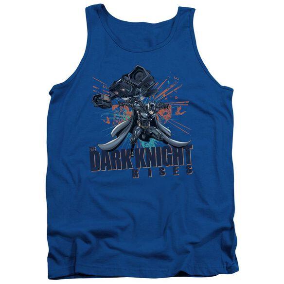 Dark Knight Rises Batwing Adult Tank Royal