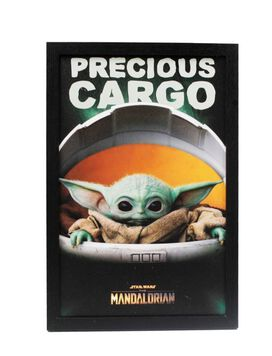 Star Wars - The Mandalorian The Child Precious Cargo Wall Art
