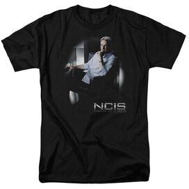 NCIS GIBBS PONDERS-S/S ADULT 18/1 - BLACK T-Shirt