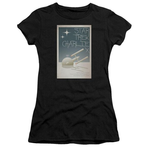 Star Trek Tos Episode 2 Short Sleeve Junior Sheer T-Shirt