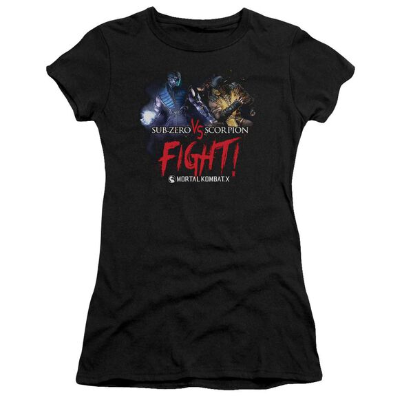 Mortal Kombat X Fight Premium Bella Junior Sheer Jersey