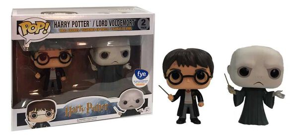 Exclusive Harry & Voldemort 2 PacK FUNKO POP!